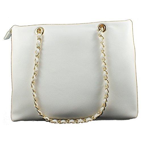Borse Donna>                     Tracolle Valentino - Icon_vbs1gj01 Bianco,