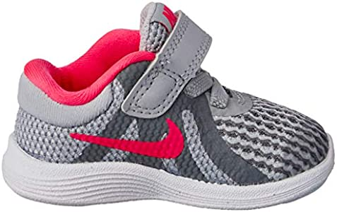 Nike Nike Girls' Revolution 4 (TDV) Running Shoe, Wolf GreyRacer Pink Cool Grey White, 8C Toddler US Toddler from Amazon | Shop