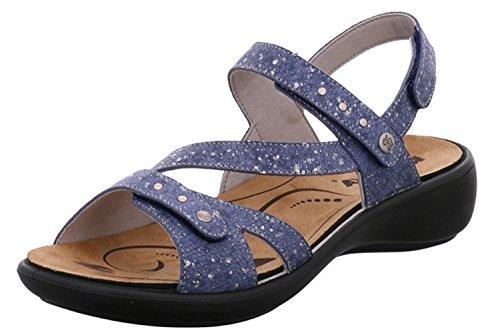 Pour Pour Romika Sandales Sandales Femme Bleu Romika Romika Pour Femme Sandales Bleu 5qwztxZ7f