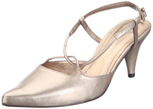 Farrutx sandal 42022 - Sandalias de vestir para mujer Dorado
