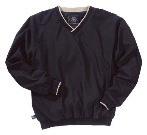 Charles River Apparel Men's Big Legend Windshirt, Black/L...