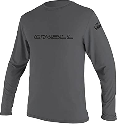 O'Neill Wetsuits UV Sun Protection Mens Basic Skins Long Sleeve Tee Sun Shirt Rash Guard