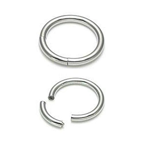 Painful Pleasures 14g Titanium Segment Captive Ring 18 Color Choices 5/16