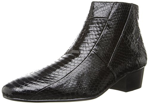 Giorgio Brutini Men's Genuine Snake Skin Look 15549 Boots,Black,11 M ()