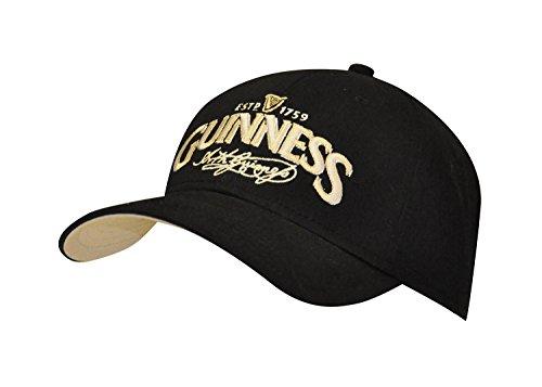 Guinness Official Merchandise Signature Baseball Cap Baseball Merchandise