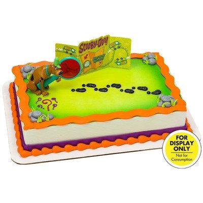Scooby-Doo! Mystery Revealed Cake Topper Decorating Set -