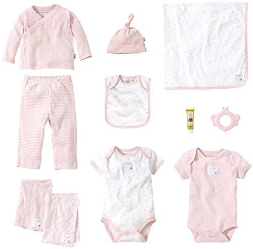 Burt's Bees Baby Baby Girls' 9 Piece Striped Take Me Home...