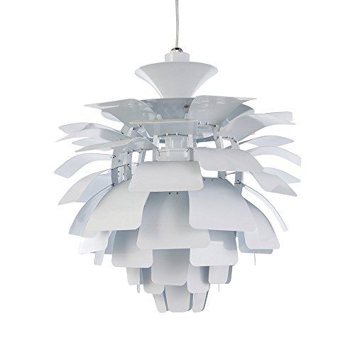 Artichoke Style Large mid Century Ceiling Pendant lamp (Multiple Colors) 19