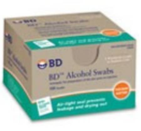 Bd 95682710 Alcohol Swabs Bd 70% Alcohol Nonsterile 32689...