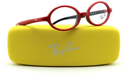 Ray-Ban RB1545 Oval JUNIOR Prescription Eyeglasses RX - able 3705, - Wayfarer Ban Hard Ray Case