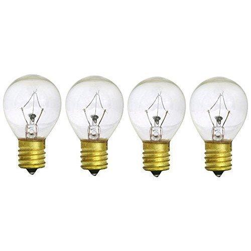 25W Hi-Intensity Light Bulbs, Replaces Lava Lamp Bulbs (4)