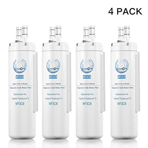 Price comparison product image WF-3-CB Water filter For Refrigerator Water Filter Pack of 4