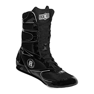 Ringside Undefeated Boxing Shoes, Black, 2