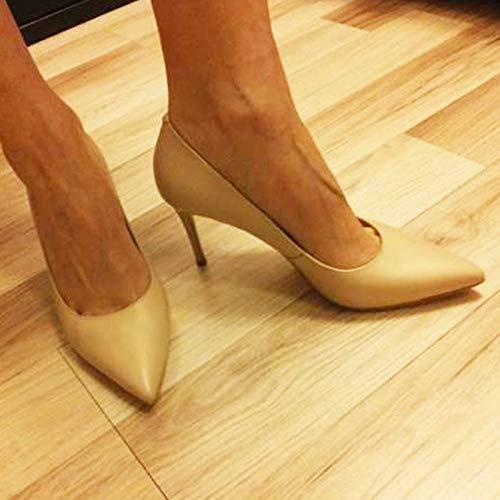 Chaussures PU Talons PU Mariage Dames Chaussures Talons hauts à Peu Authentiques HCBYJ Main la Mode à Profondes Hauts Naturel gxnpCv88w
