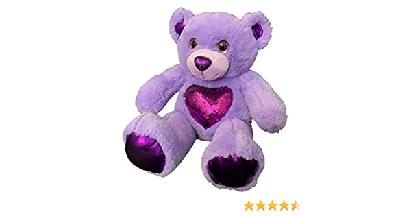 Recordable 15 Plush bear w// 30 second digital recorder /& Lavender Sachet BEARegards Comfort Bears