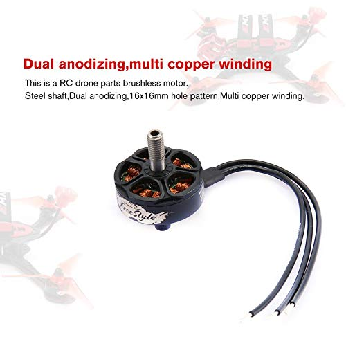 Wikiwand 4PCS Emax Hawk Buzz FS2306 6S 1700KV Brushless Motor for RC Drone FPV Racing by Wikiwand (Image #2)