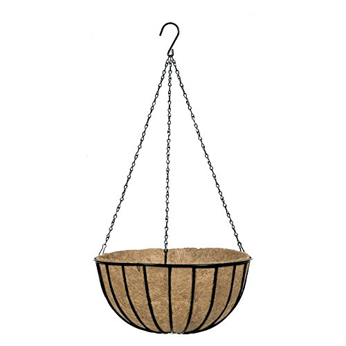 Gardman Traditional Hanging Basket & Liner