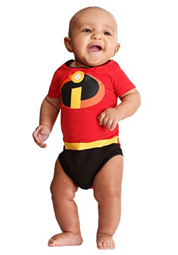 Children's Apparel The Incredibles 2 Infant Creeper Onesie 3/6 Months -
