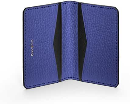 Leather Credit Card Case - Slim wallet perfect for 4-6 credit cards - OYSTER.