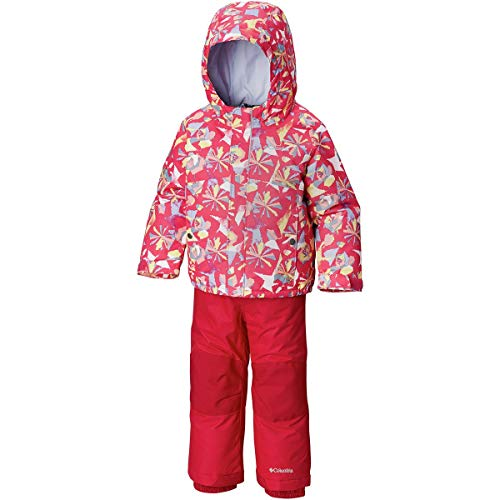 Columbia Kids & Baby Toddler Buga Set, Cactus Pink Pinwheel Print, 3T
