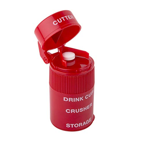 Ezy Dose Ultra Fine Cut N' Crush  │Pill Cutter │ Pill Crusher ()