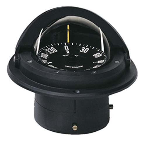 Ritchie F-82 Voyager Compass - Flush Mount - Black Marine , Boating Equipment