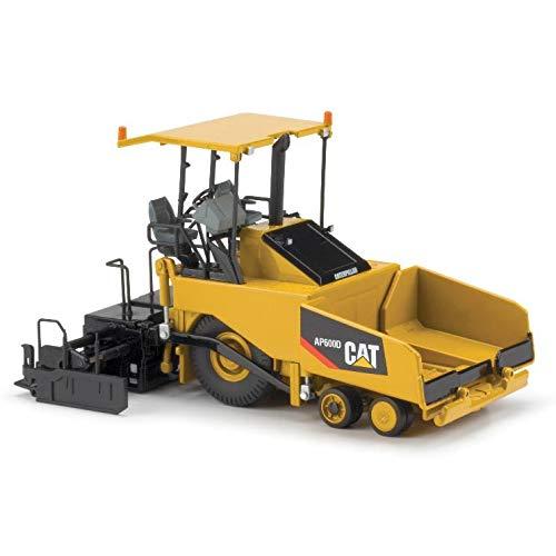 Norscot Cat AP600D Asphalt Paver with Canopy (1:50 Scale), Caterpillar Yellow ()