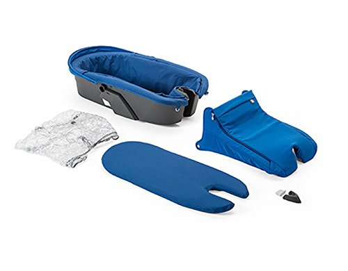 Stokke Xplory Special Edition Cobalt Blue Carry Cot Complete