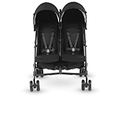 Breeze through with two. Oh, baby Baby. While life with two children can feel like twice the everything, The versatile g-link 2 helps you roll with it all. Independent reclining seats and adjustable sunshades support different nap times, whil...