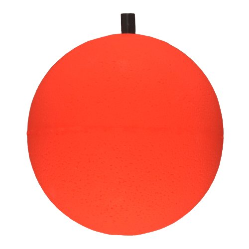 Comal S300 Giant Round Foam Float with Pegs 3-Inch, Red, Pack of 12 (Comal Tackle Float Peg)