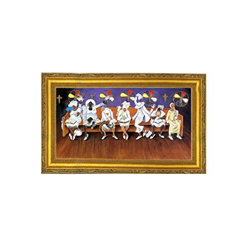 - The Art Depot The Mother Board by Annie Lee (18x29 inches - Framed Art Print) (Gold Frame)