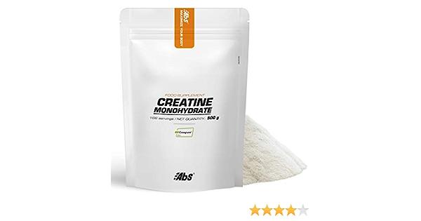 CREATINA MONOHIDRATO * Sobre de 500 g * Creapure® * Músculos & esqueleto, Rendimiento deportivo (dolores musculares, recuperación)