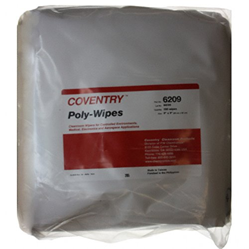 POLYWIPES CLEANROOM 9X9'' 150PC (Pack of 1)