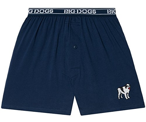 Big Dogs Logo Embroidered Knit Boxer M (8-10) ()