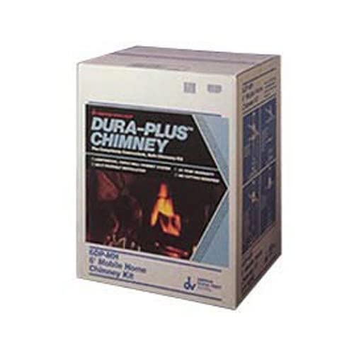 Image of Duravent 6' DuraPlus Through the Wall Kit Home Improvements