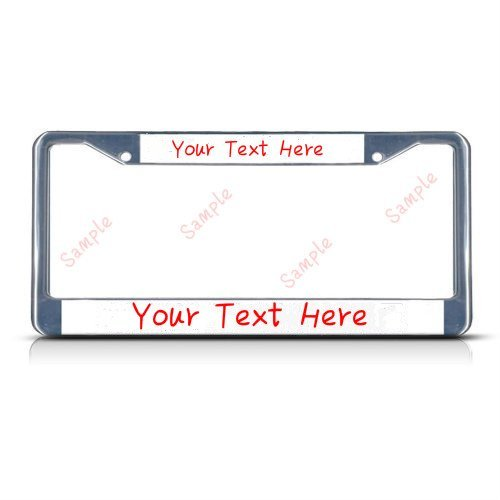 License Plate Covers We All Smile In The Same Language With Dragonfly Design Life Is Good Steel Metal Chrome License Plate Frame