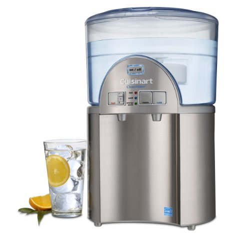 amazoncom cuisinart cleanwater 2gallon countertop system water coolers kitchen u0026 dining