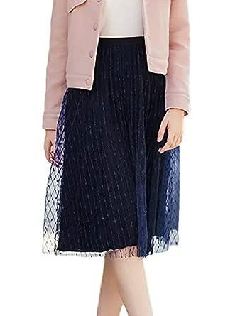 Mujer Petticoat Elegantes Flecos Falda Tul Faldas Otoño Moda ...