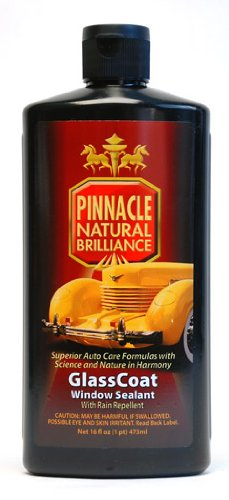 Pinnacle Natural Brilliance PIN-820 GlassCoat Window Sealant with Repellent, 16 fl. oz.