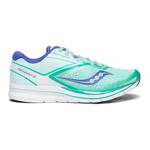 Fitness 9 Saucony Femme blanc violet Turquoise Kinvara Chaussures De FIF5R4x