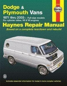 Haynes 30065 Technical Repair - Van 1978 Dodge