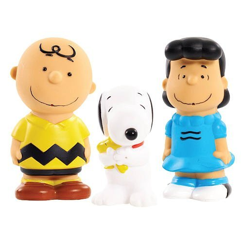 Peanuts Bath Squirters Charlie Brown, Snoopy & Lucy - 3-Pack