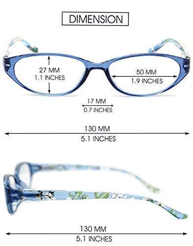3 2 Vista 5 Azul Leer Vintage Mujer Azul Lectura Leopardo 0 5 Diseño 5 Trabajo Pequeñas VEVESMUNDO Hombre Gafas Flores 2 0 0 Graduadas 1 Presbicia 1 de 3 FqwAB