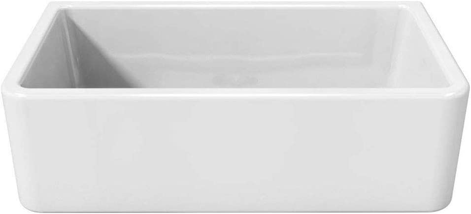 Latoscana 33 Reversible Fireclay Farmhouse Sink LFS3318W