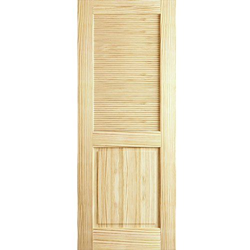 Louver Panel Door, Kimberly Bay Interior Slab Clear 80 in. x 18 in.