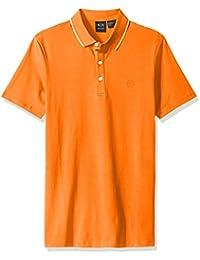 A X Armani Exchange Men's Core Ax Stretch Jersey Polo