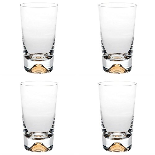 Vista Alegre Crystal Olympos Highball - Set of 4 by Vista Alegre