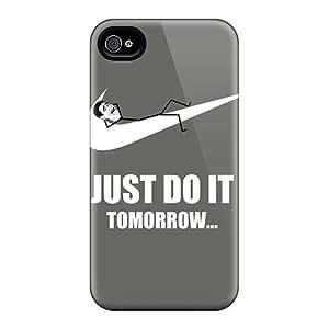 MEIMEIExcellent Design Just Do It Tomorrow Meme Phone Case For Iphone 6 Premium Tpu CaseMEIMEI