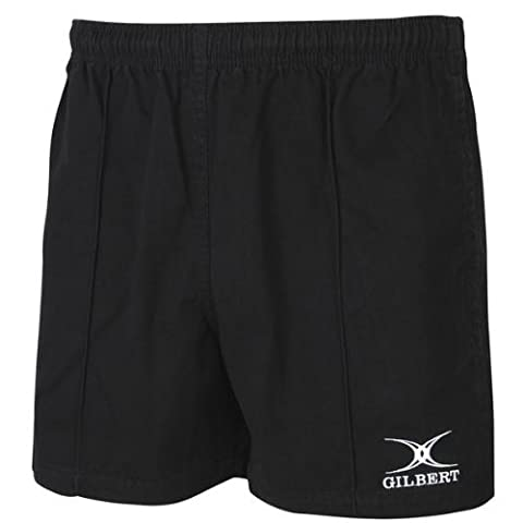 Gilbert Kiwi Pro Rugby Short (Black)(X-Large)