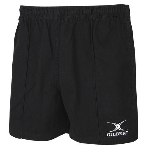 Gilbert Kiwi Pro Rugby Short (Black)(X-Large)